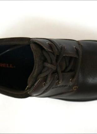 Мужские кожаные туфли merrell world т. кор. оригинал кожа5 фото