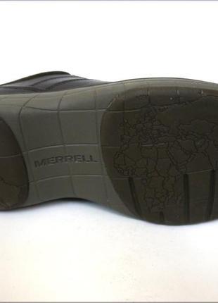 Мужские кожаные туфли merrell world т. кор. оригинал кожа6 фото