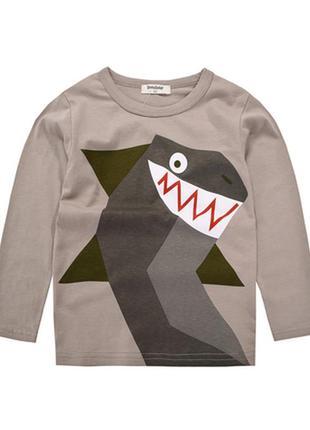 Лонгслив акула