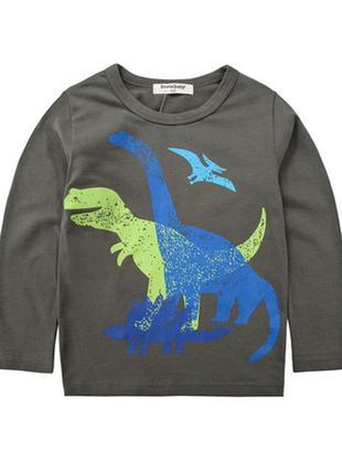 Лонгслив динозавры