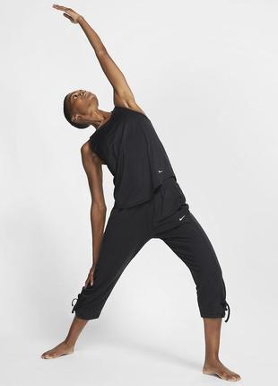 Nike оригинал спортивные капри бриджи для йоги большой размер