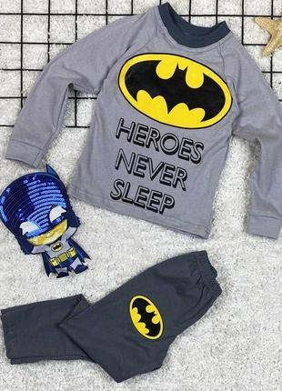 Детская пижама бэтмен