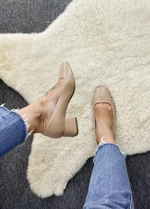 Пудровые туфельки от marks&spencer