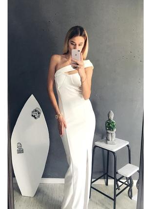 Праздничное макси платье plt