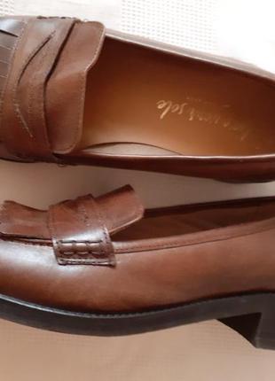 Кожаные туфлиnnew look р. 40 ст. 26 см