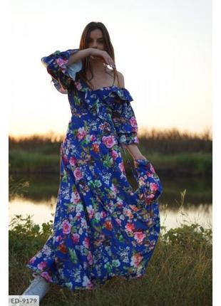 Красивое платье макси