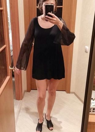 Короткое платье, туника h&m, р.s-м1