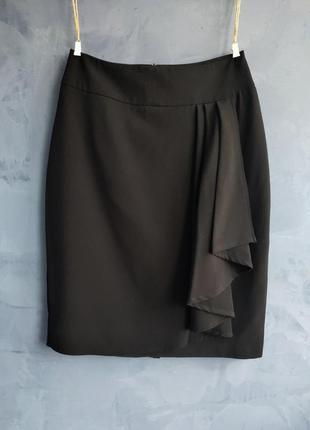 Женская классическая юбка с оборкой oogi