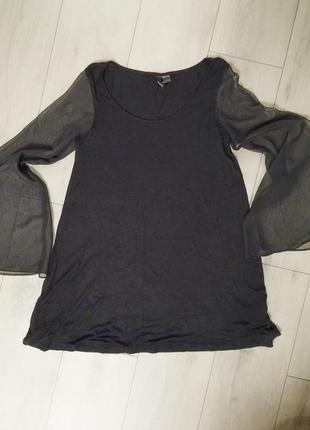 Короткое платье, туника h&m, р.s-м4