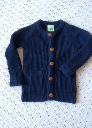 Свитер теплый шерсть мериноса кофта кардиган шерстяной светрик светр