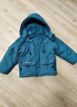Зимняя теплая курточка тпрмо куртка