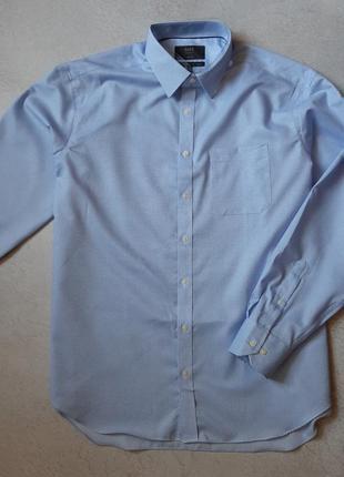 Мужская рубашка m&s длинный рукав