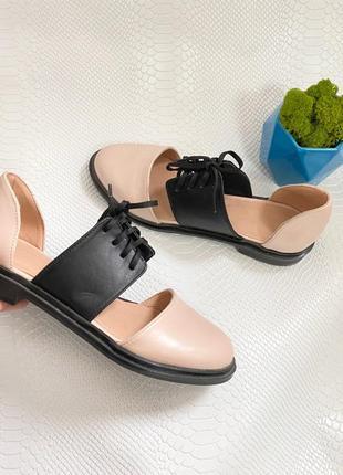 Туфлі туфли италия кожа