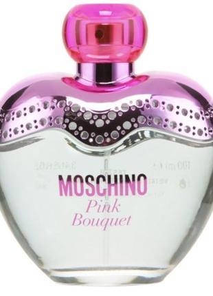 Moschino pink bouquet 100 ml тестер оригинал