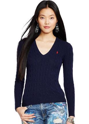 Ralph lauren sport womens sweater jumper 100% merino wool