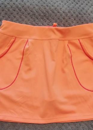 Юбка-шорты спортивная на девочку 9-10 лет, фирмы decathlon