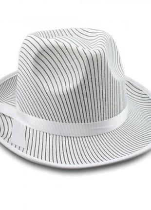 Шляпа мужская маскарадная мафия мафиози