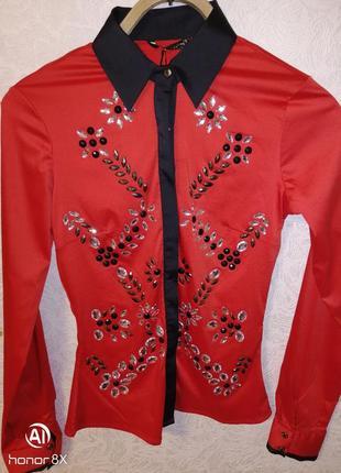 Фирменная блуза di'she