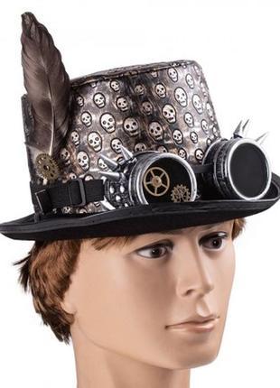 Шляпа в стиле стимпанк капитан теодор