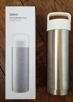 Miniso бутылка термос из нержавейки