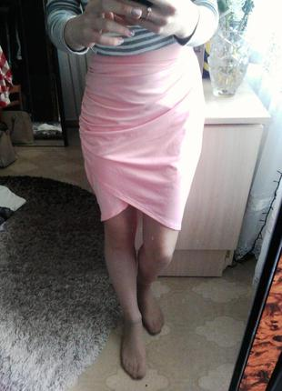 Асиметрическая юбка
