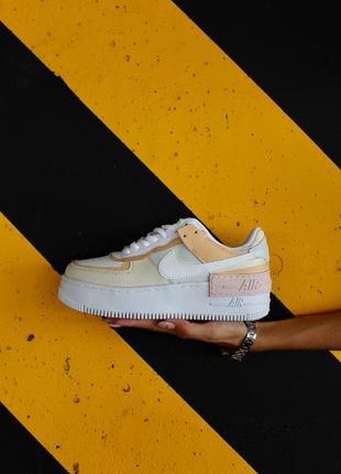 Nike air force shadow white beige