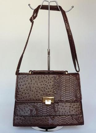 Суперцена. стильная сумка портфель. новая