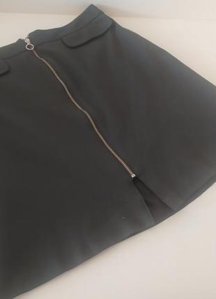Стильная юбка на змейке