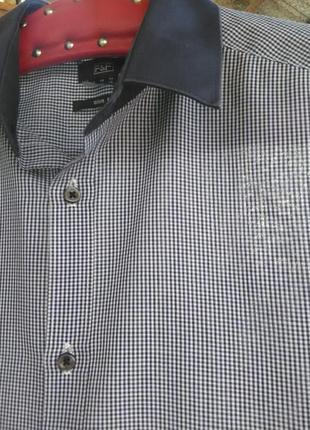 """Рубашка в клетку """"виши"""" f&f"""