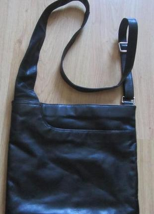 Мужская кожаная сумка - планшет radley.