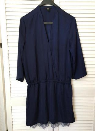 Красивое женственное платье в бельевом стиле