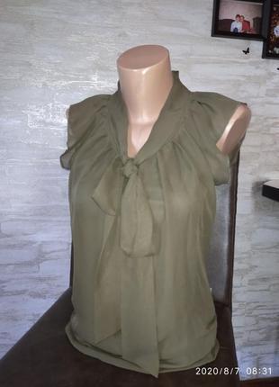 Шикарная блуза с кружевной спинкой!!!