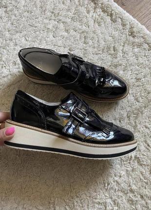 Туфли мокасины лоферы