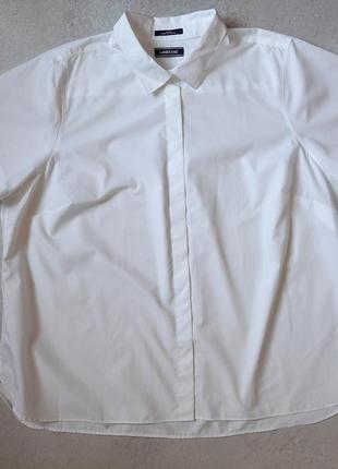 Мужская рубашка свободного кроя