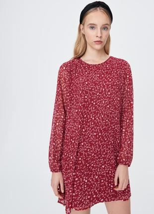 Платье в цветочек sinsay