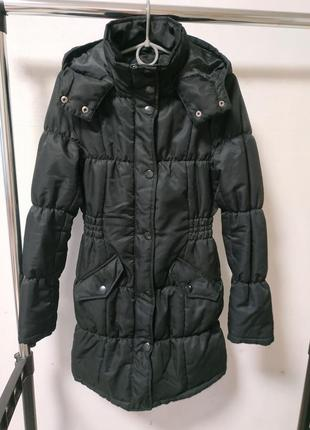 Куртка пальто на синтепоне размер s