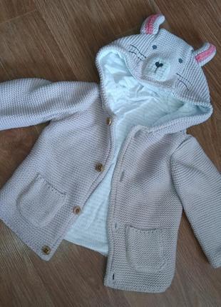 Кофта куртка с ушками