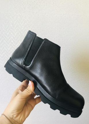 Ботинки кожа ботінки шкіра