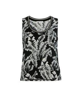 Блуза туника блузка майка легкая прямая свободная тонкая летняя 100% вискоза