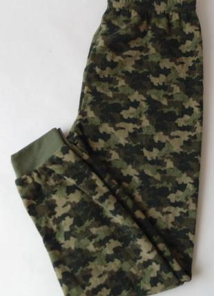 Пижамные штаны тонкий флис 9-10 лет англия