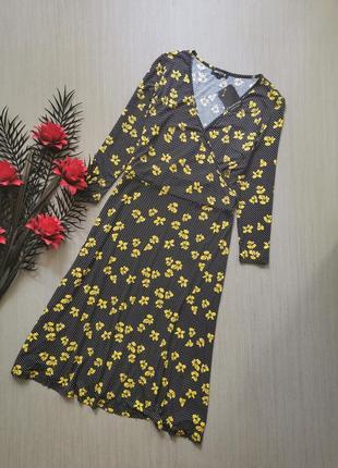 Вискозное платье debenhams