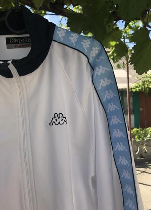Крутая олимпийка от бренда kappa