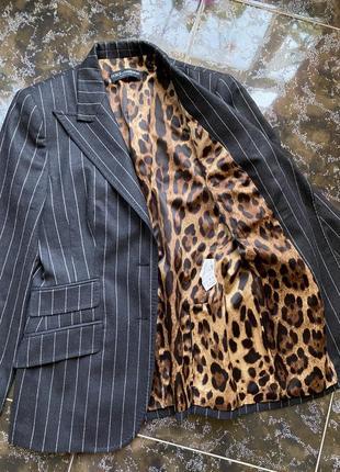 Шерстяной пиджак dolce&gabbana оригинал9 фото