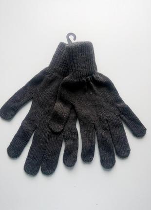 Мужские вязаные перчатки attention l/xl