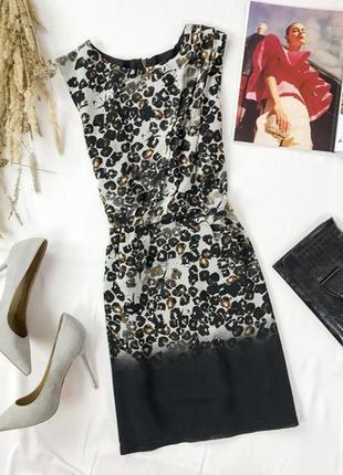 Женственное платье с драпировкой  dr1949082  topshop