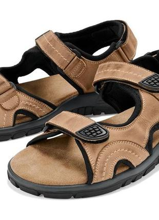 Мужские кожаные сандали crivit германия р. 42
