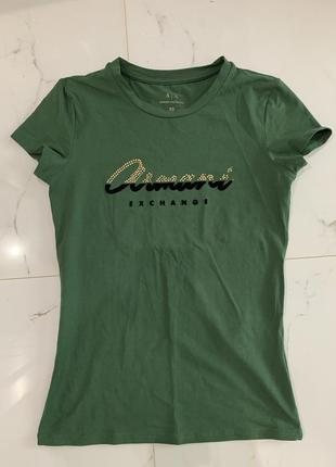 Новая футболка armani