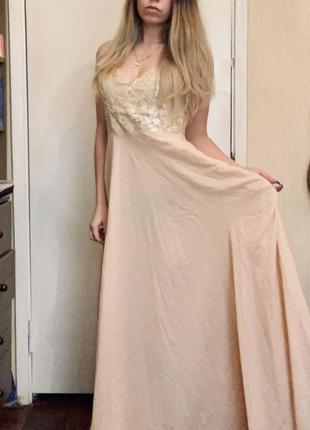 Выпускное вечернее платье для дружки