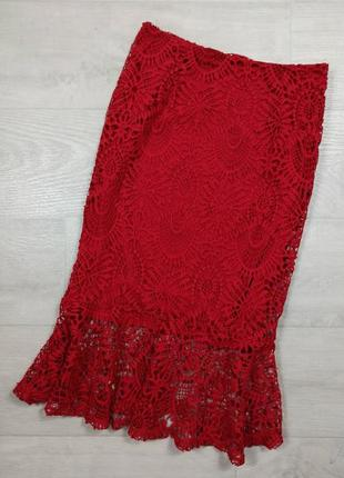 Кружевная юбочка zara