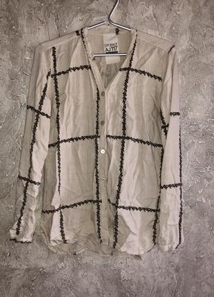 🐇оригинальная рубашка из 100% вискозы маленького размера
